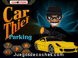 car thief parking