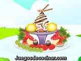 Platos con frutas