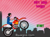 Girl Bike Stunt