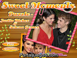 Sweet Moments Puzzle Justin Bieber & Selena Gomez