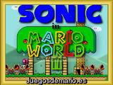 Sonic en Mario World