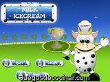 Helado de leche mágico