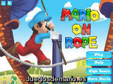 Mario on Rope