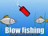 Blow fishing