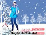 Viste a la Chica en Nieve