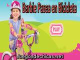 Barbie Pasea en Bicicleta
