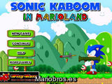 Sonic Kaboom in Mario Land