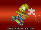 Puzzle Simpson zombie
