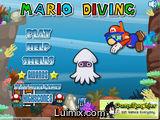 Mario diving