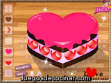 Lave chocolate cake