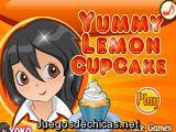 Yummy Lemon Cupcake