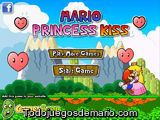 Mario princess kiss