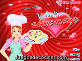 Valentine blanc mange