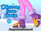 Dress my Snow Boots