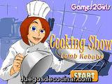Cooking Show Lamb Kebabs