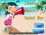 Jessica Beach Salad Bar