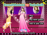 Hannah Montana vs Taylor Swift