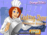 Cooking Show Chocolate Brownie