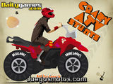 Crazy ATV stunts