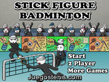 Stick Figure Bandminton