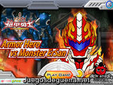 Armor hero Vs. Monster Ersan