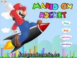 Mario On Rocket