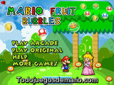 Mario Fruit Bubbles