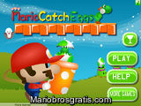 Mario catch eggs