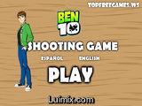 Ben 10 juegos de disparos