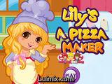 Lily a Pizza Maker